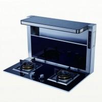 美炊分体式集成灶头部加热烟灶套装自动清洗