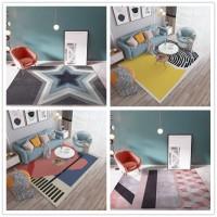 卡梵妮ins北欧轻奢现代简约地毯