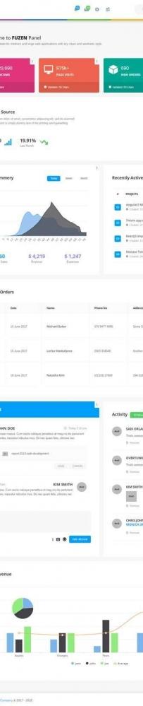 创意的资源下载网站后台管理ui界面模板