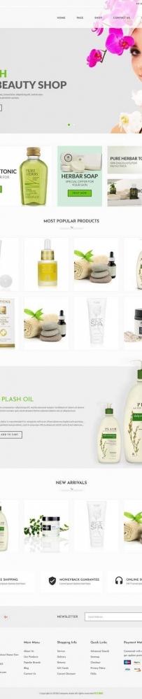 spa水疗美容馆网站模板