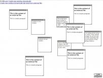能随意创建且能随意拖动的文本框网页特效源码下载