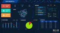 设备环境监测大数据页面html5模板
