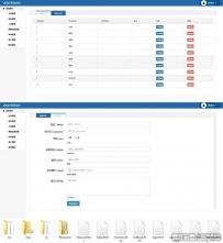 实用的进销库存管理后台cms模板