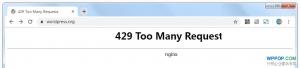 """连接wordpress官网出现""""429 Too Many Requests""""错误的解决方法"""