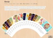 jquery扑克牌魔术变换10多种洗牌效果特效源码下载