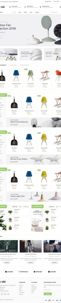 bootstrap家具电子商城网站模板